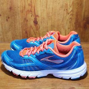 Brooks Launch HPR Orange/Teal Running Shoes Sz 9